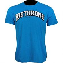 Dethrone Cracked Blue Shirt